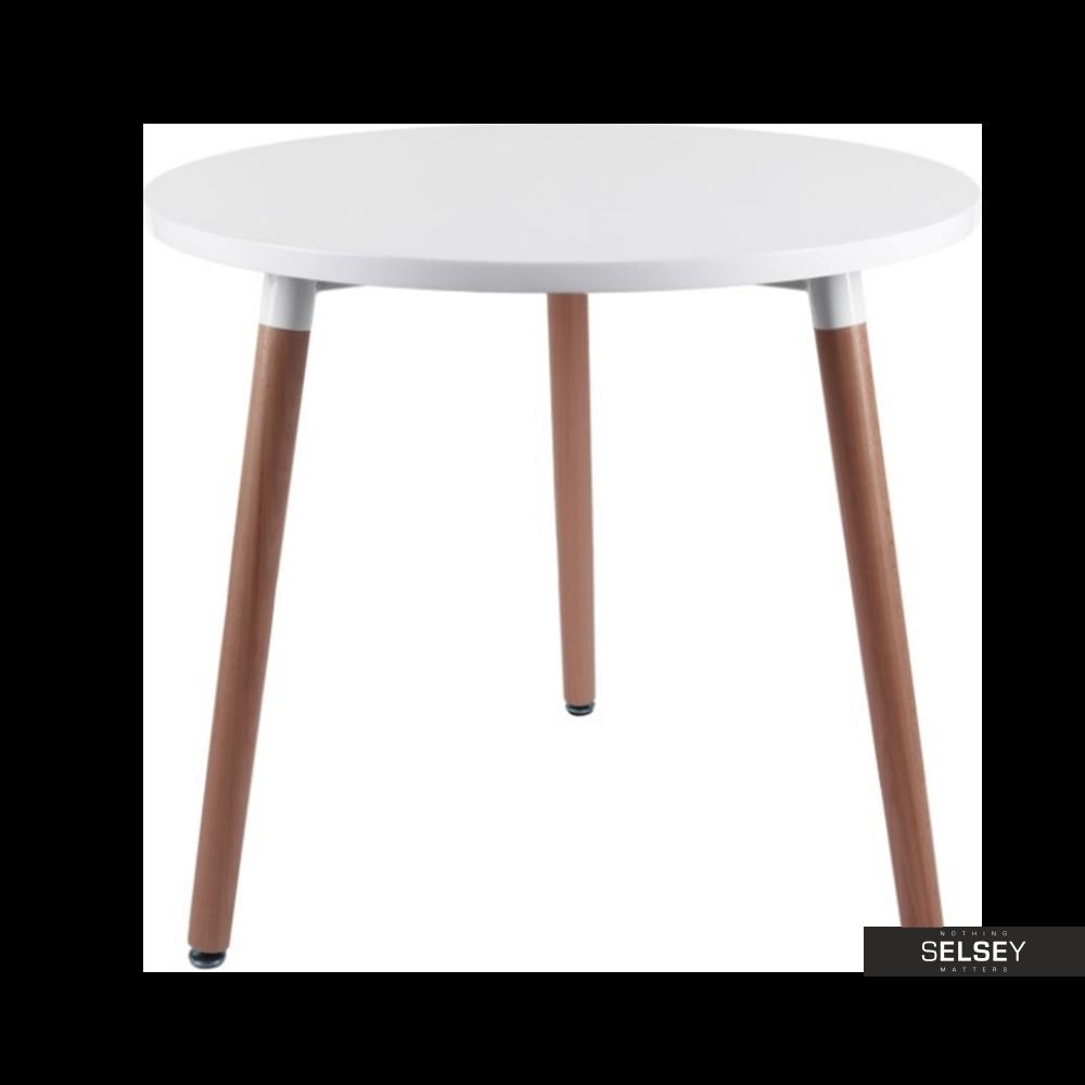 Tisch COPINE weiß 9 cm rund