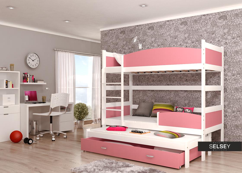 Etagenbett Drei Schlafplätzen : Etagenbett tom mit schlafplätzen inkl bettkasten