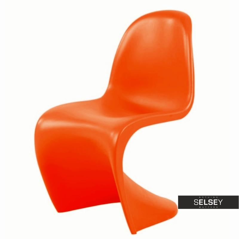 Panton Chair Balance Orange