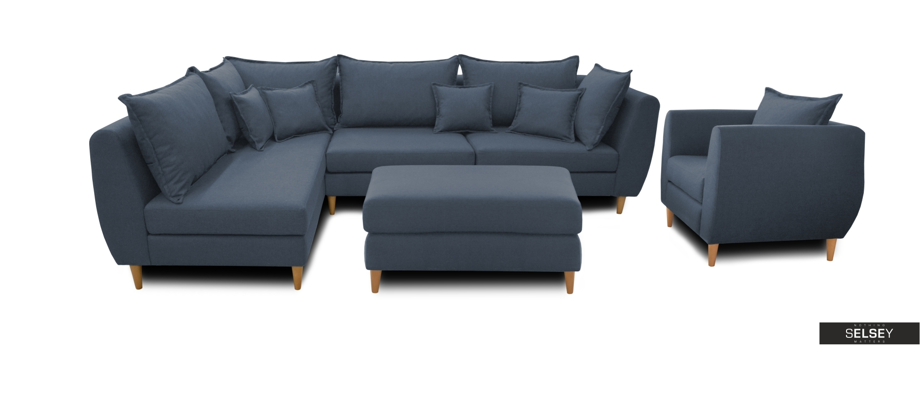 sitzgruppe bornholm mit ecksofa sessel und hocker. Black Bedroom Furniture Sets. Home Design Ideas