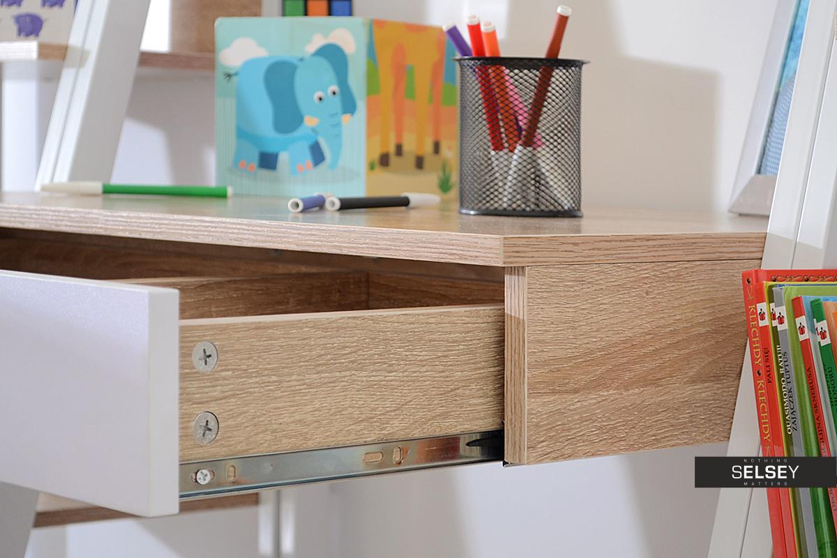 designer schreibtisch dalen mit schublade. Black Bedroom Furniture Sets. Home Design Ideas