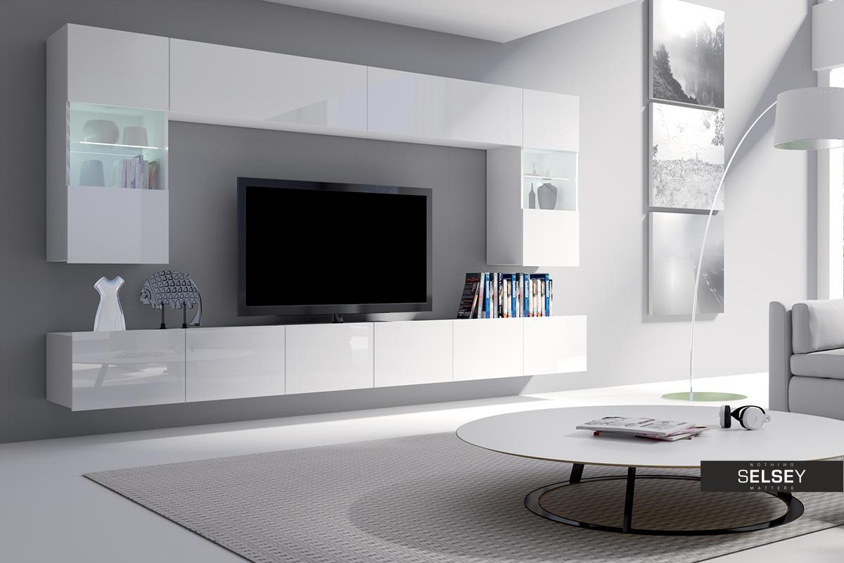wohnwand augusta gro. Black Bedroom Furniture Sets. Home Design Ideas