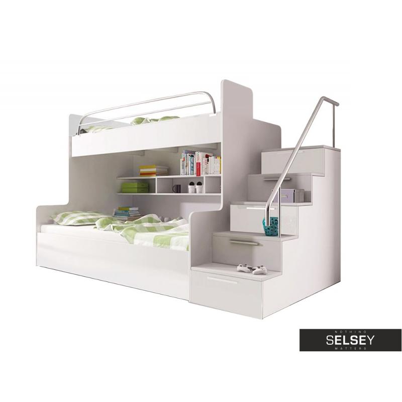etagenbett dream mit treppe und stauraum. Black Bedroom Furniture Sets. Home Design Ideas
