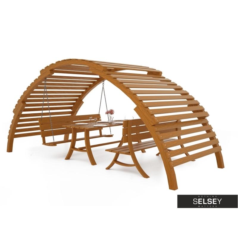 Gartenmöbel set mit bank  Gartenmöbel-Set ALTANA mit Schaukel, Bank und Tisch