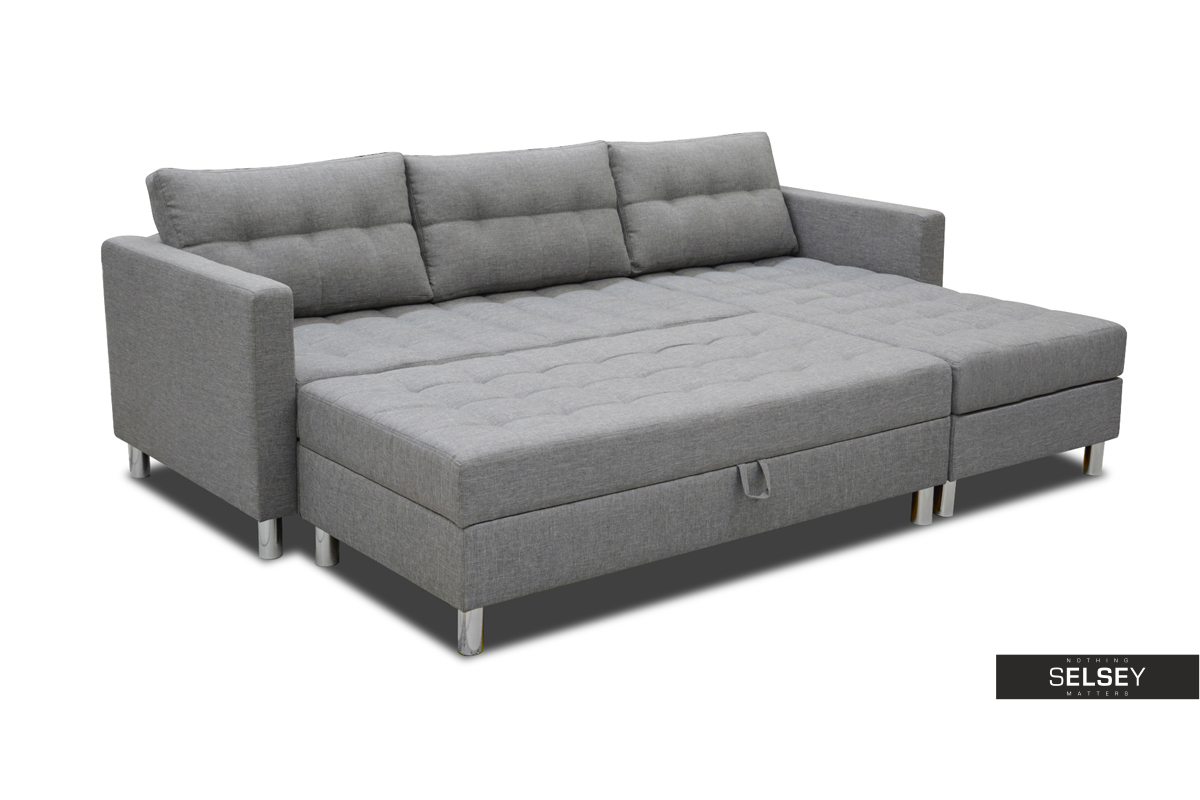 ecksofa kopenhagen mit hocker bettfunktion und bettkasten. Black Bedroom Furniture Sets. Home Design Ideas