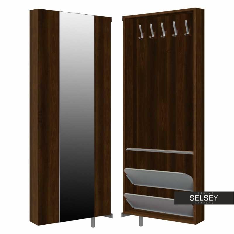 drehschrank slim garderobe mit spiegel. Black Bedroom Furniture Sets. Home Design Ideas