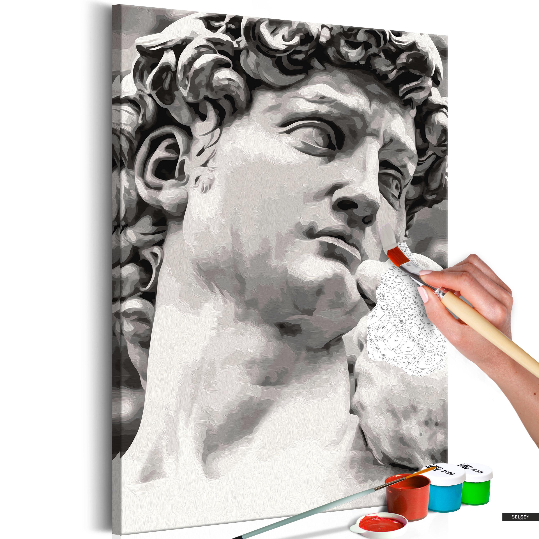 Malen Nach Zahlen Skulptur