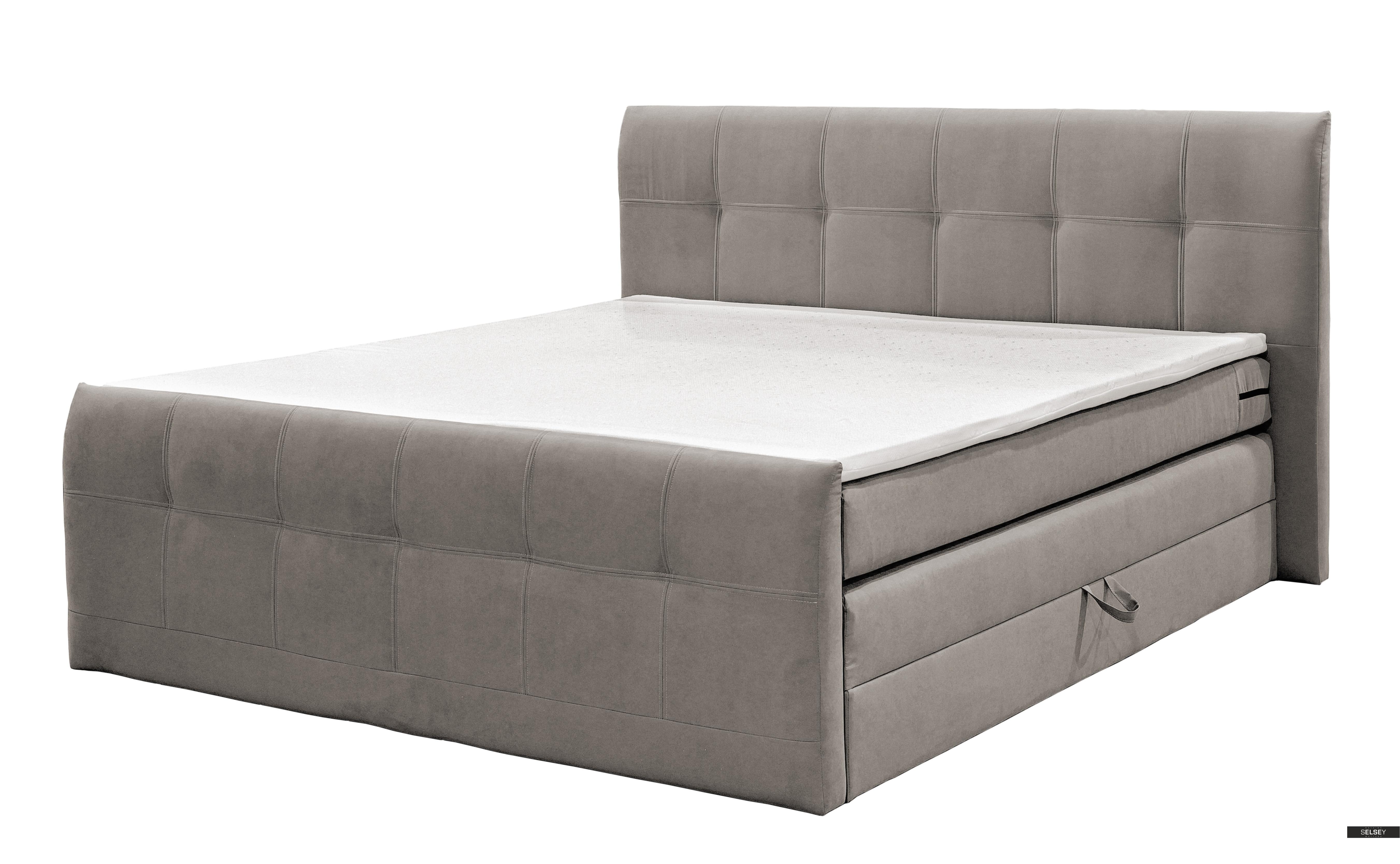 boxspringbett vulcano mit matratze optional mit topper. Black Bedroom Furniture Sets. Home Design Ideas