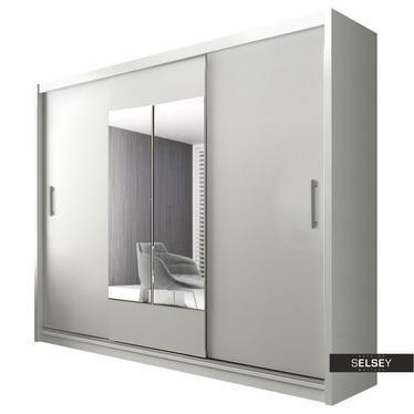 Kleiderschrank KIER Schwebetürenschrank 250 cm optional mit LED
