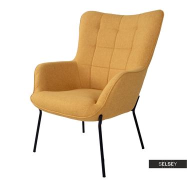Sessel GLABER Gelb