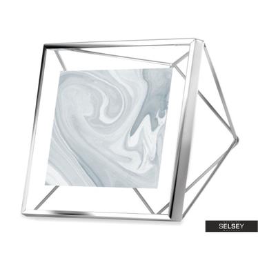 Bilderrahmen PRISMA 10x10 cm silber