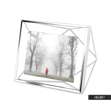 Bilderrahmen PRISMA 10x15 cm silber