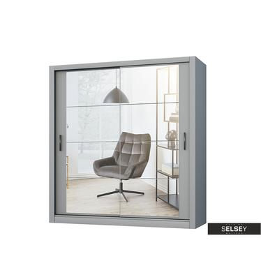 Kleiderschrank LUGAROS 180 cm mit 2 Spiegeln