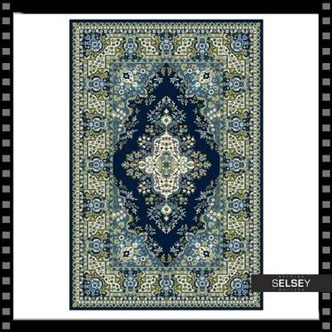 Teppich BASAL KALEJDOSKOP I 170x240 dunkelblau die letzten Stücke
