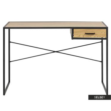 Schreibtisch KRAPINA in Eiche mit Schublade