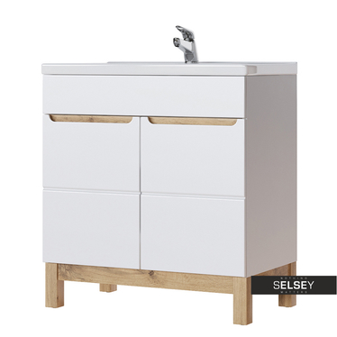 Waschbeckenunterschrank JAKARTA 80 cm