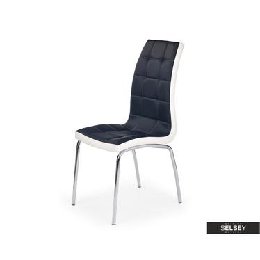Stuhl SALTA schwarz/weiß