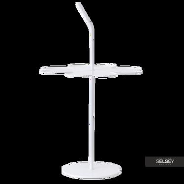 Beistelltisch LIMB weiß 43x43 cm