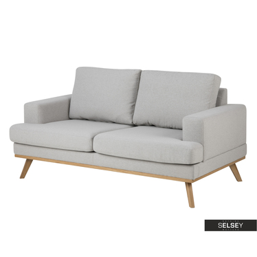 Sofa ENDELION grau 2-Sitzer