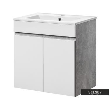 Waschbeckenunterschrank PUEBLA mit 2 Türen 60 cm