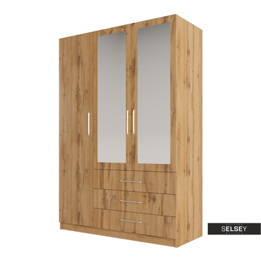 Kleiderschrank RETURRO 148 cm