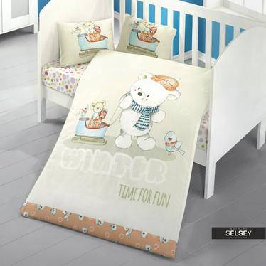 Bettwäsche TIME FOR FUN 100x150 cm für Kinder
