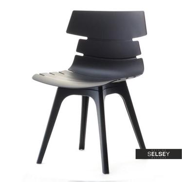 Kunststoffstuhl ZAC DSX schwarz