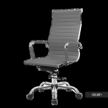 Bürostuhl OLIMPICOT grau mit Kunstleder