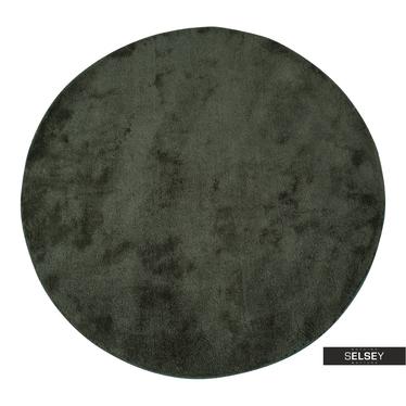 Teppich BRIDIN Moosgrün rund 120 cm