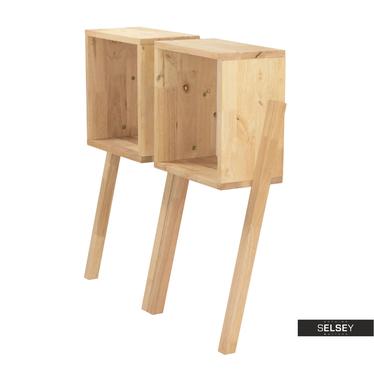 Modulregal ORIGANUM 2er-Set aus Holz