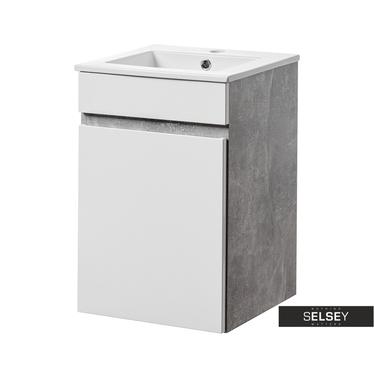 Waschbeckenunterschrank PUEBLA eintürig 40 cm