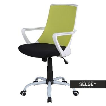 Schreibtischstuhl GENNER grün höhenverstellbar mit Drehfunktion