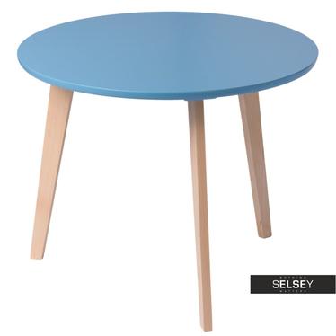 Beistelltisch OSLO blau
