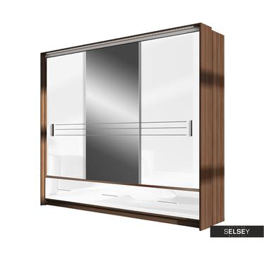 Kleiderschrank PRIMKER 250 cm mit Spiegel