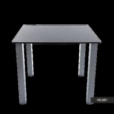 Gartentisch CHARM 90x90 cm mit marmorierter Tischplatte