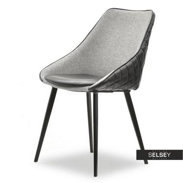 Stuhl DALI schwarz/grau