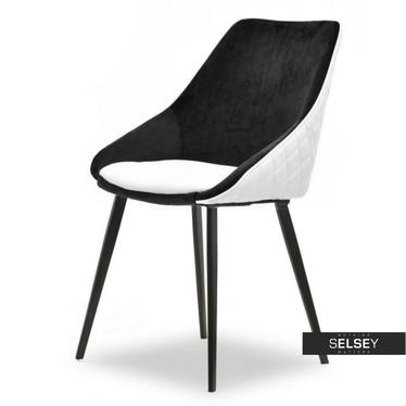 Stuhl DALI schwarz/weiß