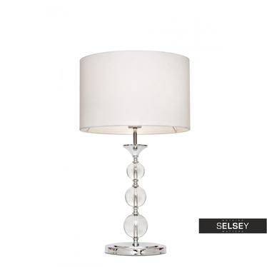 Tischlampe CRYSTAL weiß