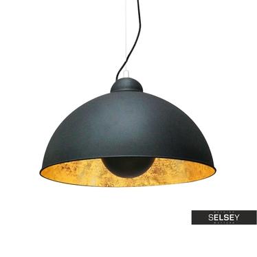 Hängelampe GRAVITY II schwarz/gold