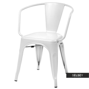 Stuhl PARIS ARMS in Weiß