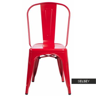 Stuhl PARIS in Rot