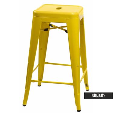 Barhocker PARIS gelb 66 cm