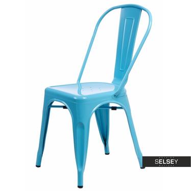 Stuhl PARIS blau Tolix Design