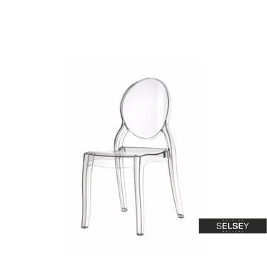 Stuhl BABY MIA transparent