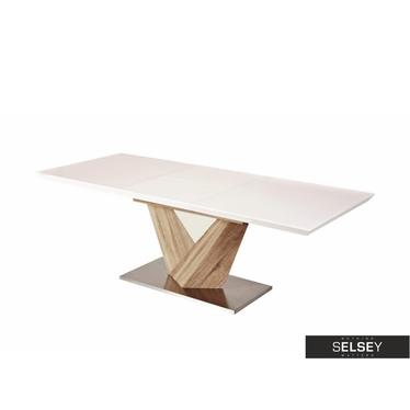 Stół Aramoko 140(200)X85 sonoma/biały