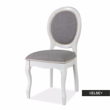 Stuhl ANDALEN weiß/grau