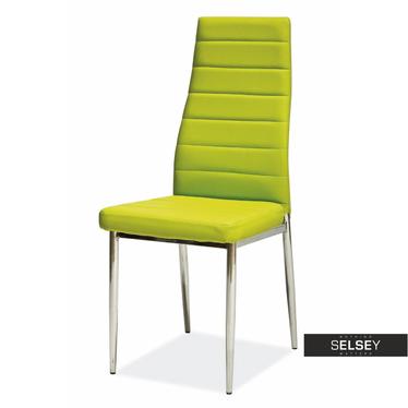 Stuhl LASTAD grün/Chrom