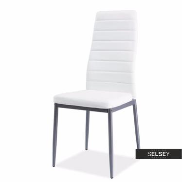 Stuhl LASTAD weiß/Aluminium