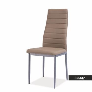 Stuhl LASTAD beige/Aluminium