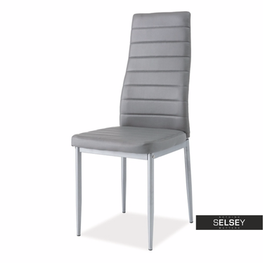 Stuhl LASTAD grau/Aluminium